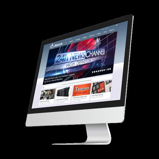 Сайт для SkyLark Technology Inc